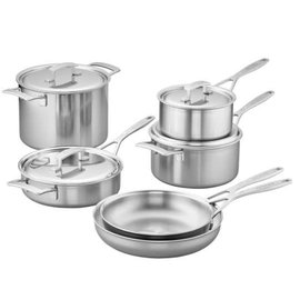 Demeyere Demeyere Industry Stainless Steel Cookware 10 Piece Set