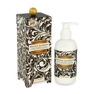 Michel Design Works Michel Design Works Hand Lotion Honey Almond Black Florentine