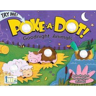 innovativeKids innovativeKids Poke A Dot Book Goodnight, Animals