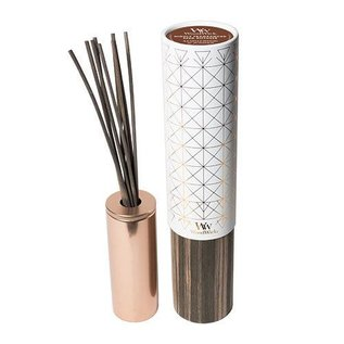 Virginia Gift Brands WoodWick Candle Aura Reed Diffuser 8 oz. Sandalwood & Juniper