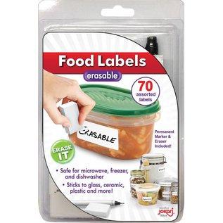 Jokari Jokari Erasable Food Labels with Pen and Eraser