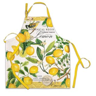 Michel Design Works Michel Design Works Chef Apron Lemon Basil