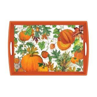 Michel Design Works Michel Design Works Decoupage Wooden Tray  20x13.6 inch Pumpkin Melody