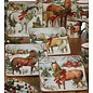 Certified International Certified International Christmas on the Farm Dessert Plate Assorted 8.5 inch