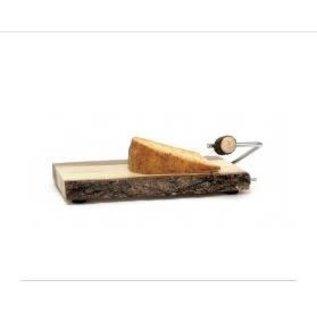 Lipper Lipper Acacia Slab Cheese Slicer with Bark