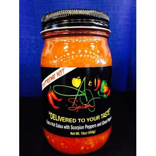 A & J Salsa A & J Salsa EXXTREME HOT with Scorpion & Ghost Peppers