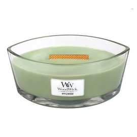 Virginia Gift Brands Woodwick Candle Hearthwick Large Applewood