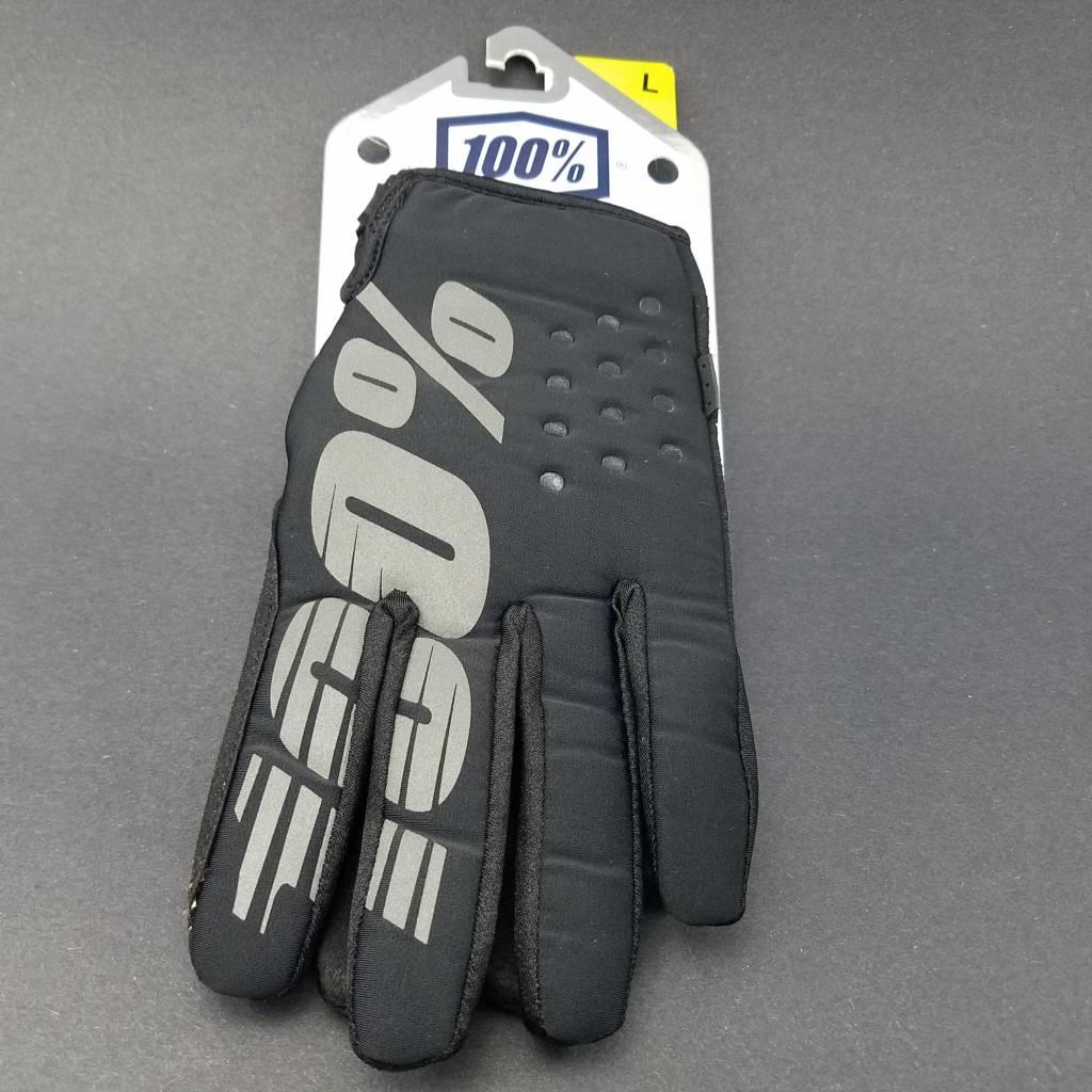100% Brisker glove, black - L (10)