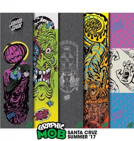 Mob Mob Logo Assorted Grip Tape 9in x 33in Bg/5 Graphic Mob