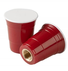 CRUISER CANDY VALVE CAPS RED CUP