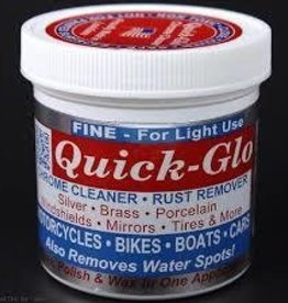 QUICKWAY BRANDS CLEANER CHROME QUICK GLO 8oz FINE