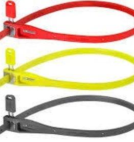 Hiplok HIPLOK    ZLKIRD REUSABLE ZIP TIE LOCK 40cm RED