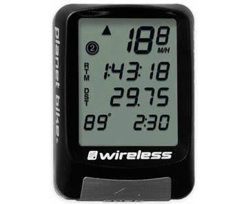 Planet Bike PLANETBIK 8003 PROTEGE 9.0 9-FUNC WIRELESS W/4-LINE DISPLAY