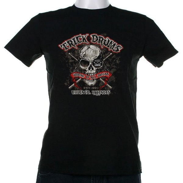 Trick Drums Pirate Shirt - Where it all began!
