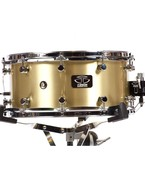 Trick Drums Brass 6.5x14 Snare Drum