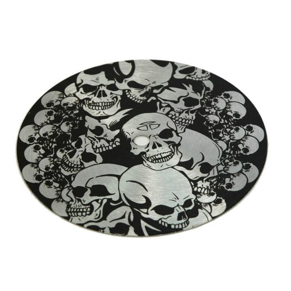 "Trick Drums 8"" Skull Sound Slab"