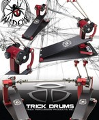 Trick Drums Trick Big Foot Black WIdow Edition Double Pedal