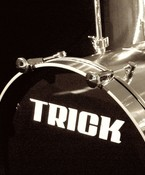 Trick Drums Bass Drum Decal