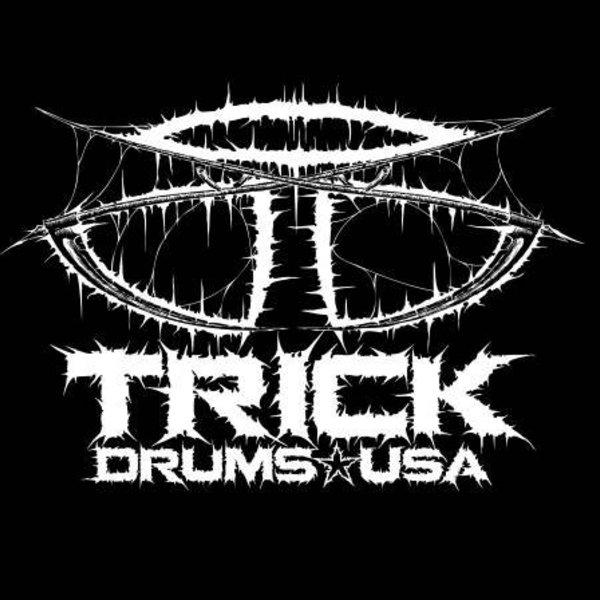 Trick Drums Doom Logo T-Shirt