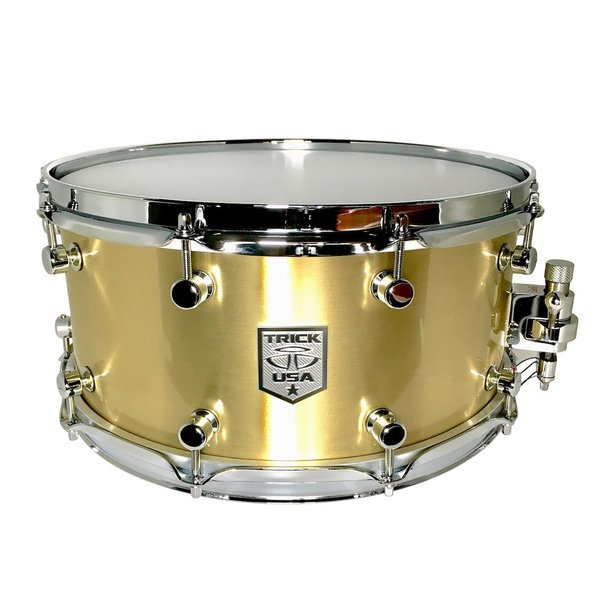 Trick Drums Brass 6.5x14 Snare Drum