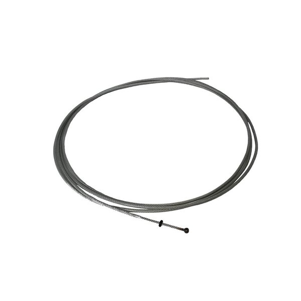 Trick Drums Coated Inner Cable for Predator Remote Hi Hat Stand; 7 ft
