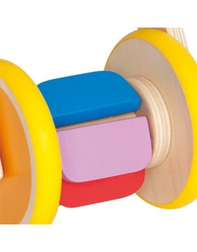 Hape Toys Hape Push Pal - Rainbow