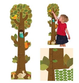 Petit Collage Tree Growth Chart