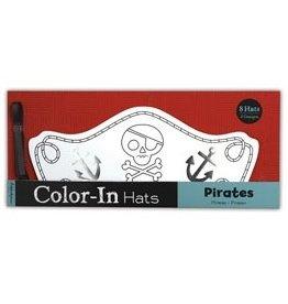 Mudpuppy Mudpuppy Color-In Crowns - Pirates