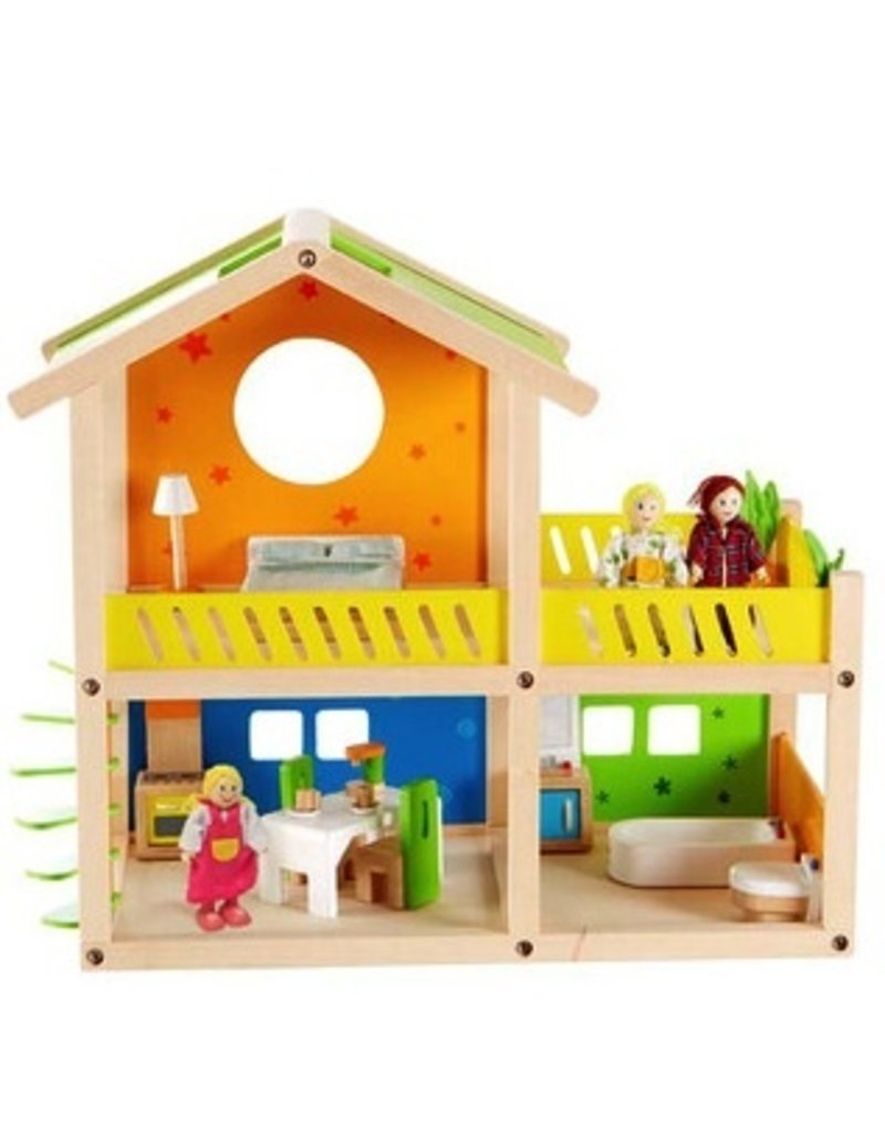 Hape Toys Hape Happy Villa - 26pc