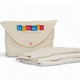 Bummis Bummis Organic Prefold Diapers 6 Lg