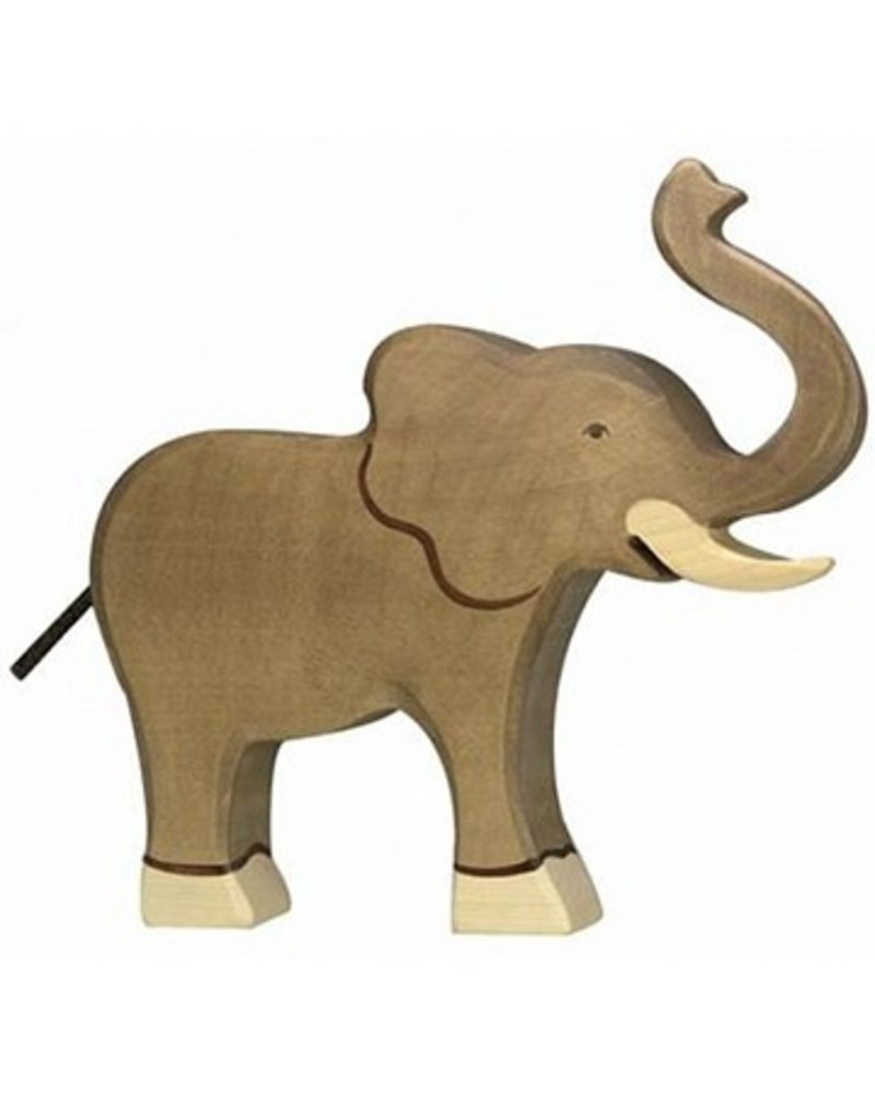 Holztiger Holztiger Elephant, trunk raised