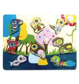 Native Northwest Native Northwest Chunky Puzzle Animals
