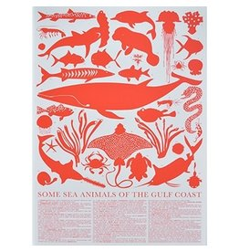 Banquet Banquet Some Sea Animals of the Gulf Coast Print