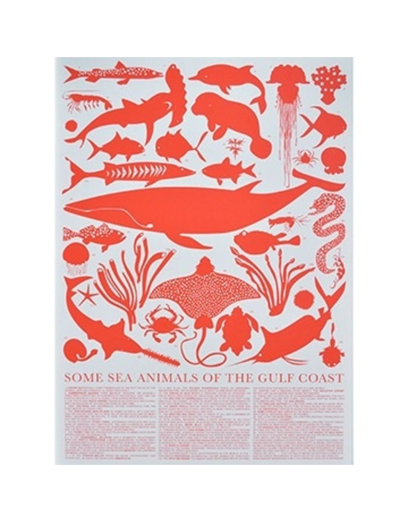 Banquet Banquet Some Sea Animals of the Gulf Coast Print