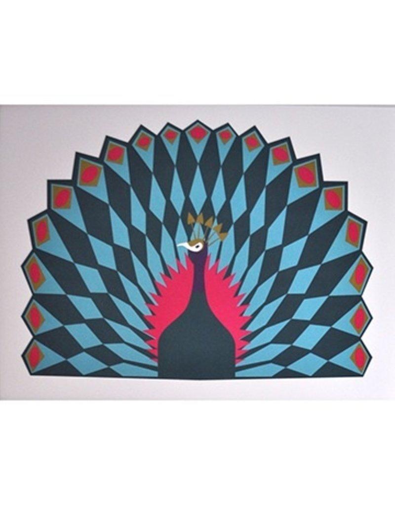Banquet Banquet Peacock Print