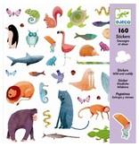 Djeco Djeco Stickers Wild & Cuddly