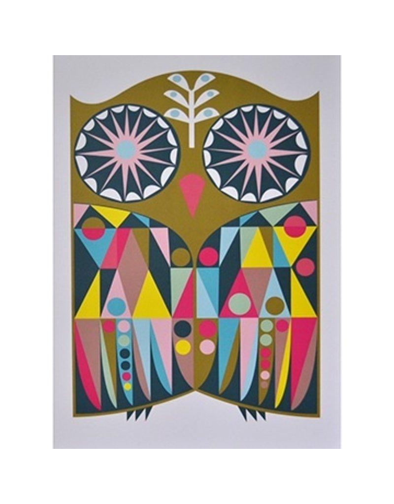 Banquet Banquet Neo Geo Owl Print