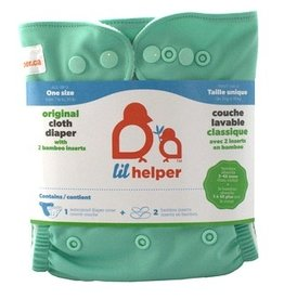 Lil Helper Lil Helper Bamboo Diaper - Solids