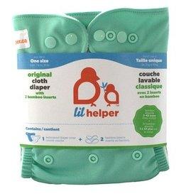 Lil Helper Lil Helper Bamboo Diaper - Solids