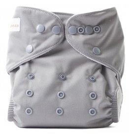 Lil Helper Lil Helper Charcoal Diaper - Solids