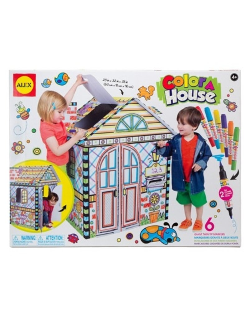 Alex Alex Colour-a-House