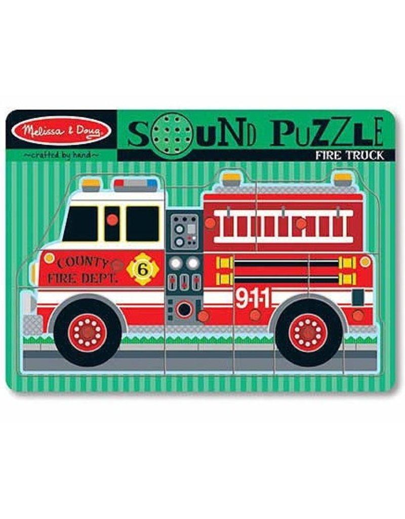 Melissa & Doug Melissa & Doug Sound Puzzle - Fire Truck