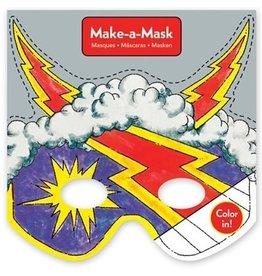 Mudpuppy Make-a-Mask Superheroes