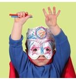 Mudpuppy Mudpuppy Make-a-Mask Superheroes