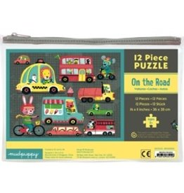 Mudpuppy Mudpuppy 12 Piece Puzzle - On the Road
