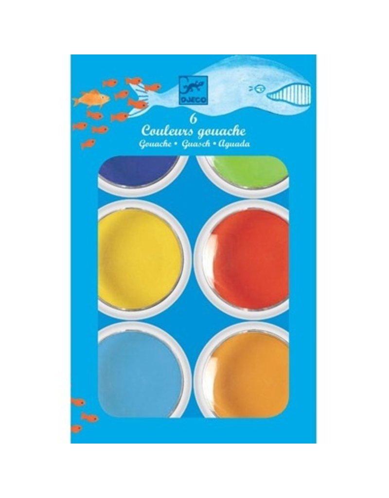 Djeco 6 Giant Colour Cakes