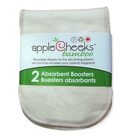 Applecheeks Bamboo Booster 2pk