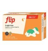 Bumgenius Bumgenius Flip Organic Night Insert 2pk