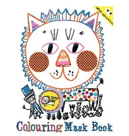Draw Me A Lion Draw Me A Lion Colouring Mask Book