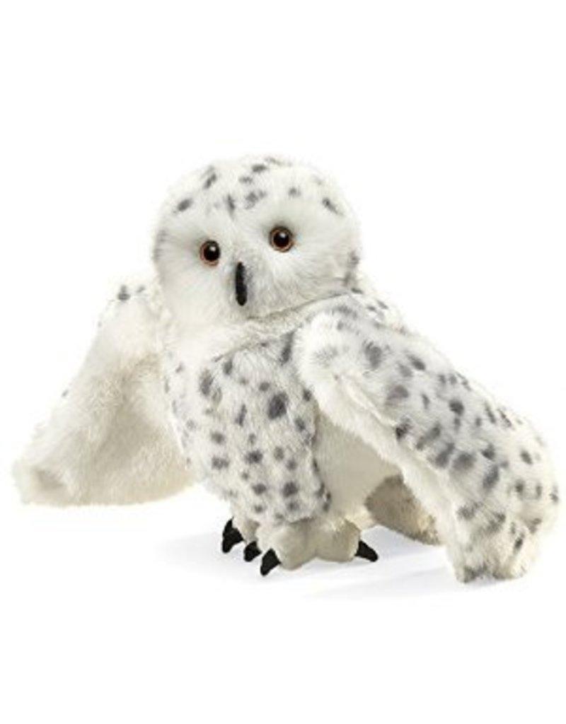Folkmanis Snowy Owl Puppet